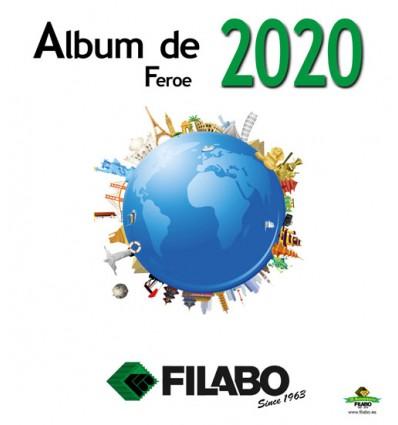 FILABO HOJAS ALBUM DE SELLOS DE FEROE