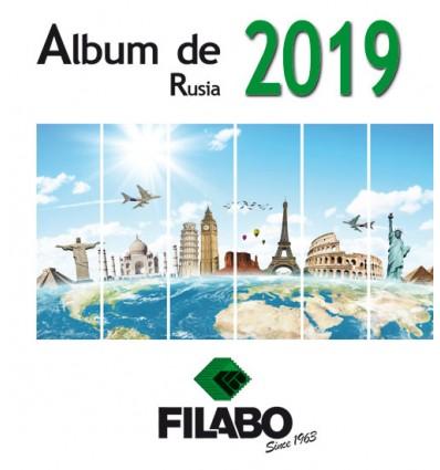 HOJAS ALBUM DE SELLOS DE RUSIA