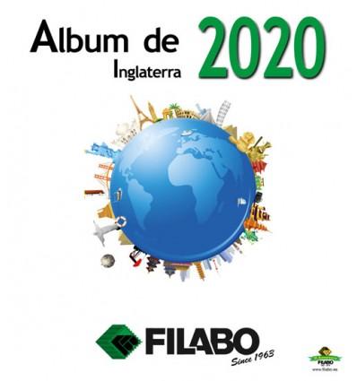 FILABO HOJAS ALBUM DE SELLOS DE INGLATERRA