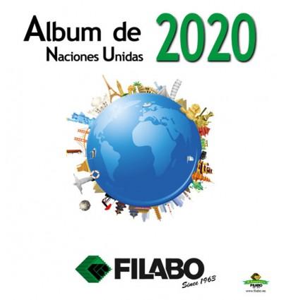 HOJAS ALBUM DE SELLOS DE NACIONES UNIDAS (ONU)