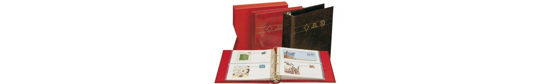 Álbumes Sobres Primer Día, Tarjetas, Postales, Cartas